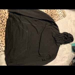 torrid active pull over thin sweatshirt
